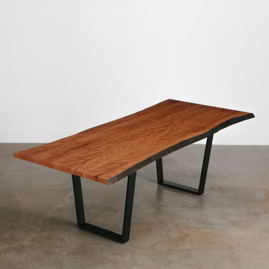 Cherry live edge kitchen table