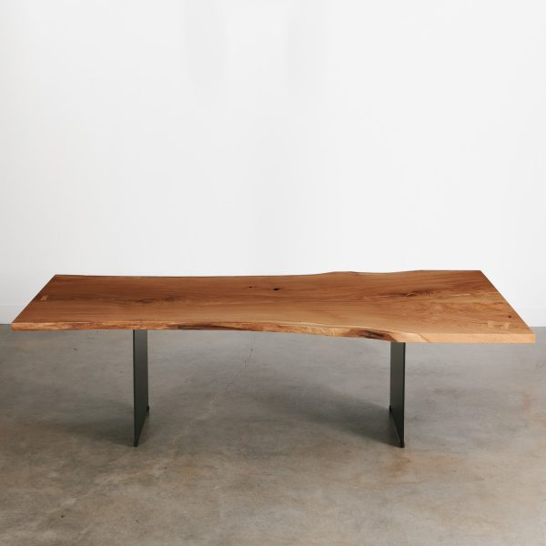 Luxury modern oak dining table