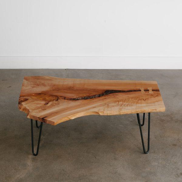 Luxury handmade live edge coffee table