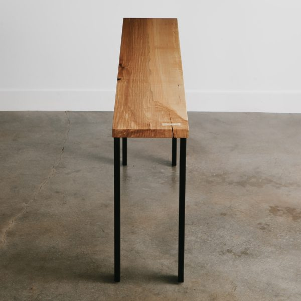 Luxury ash tree console table