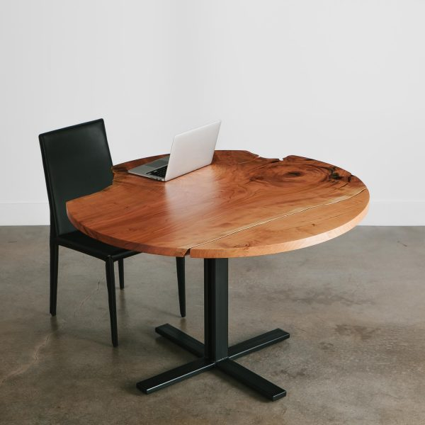 Custom live edge trendy dining table