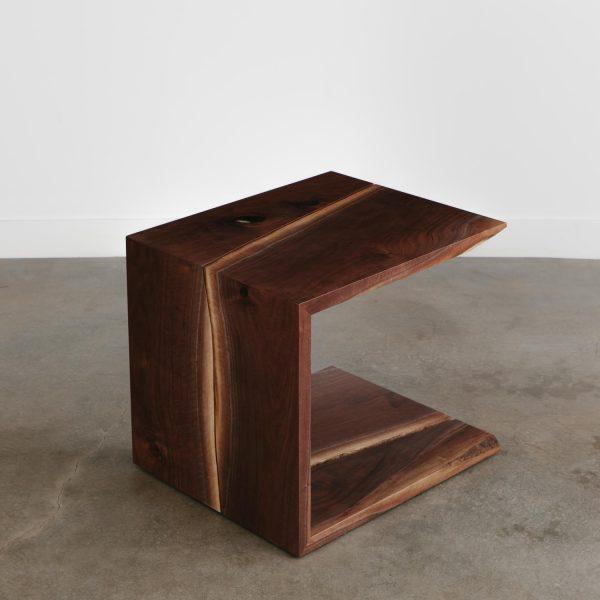 Live edge custom waterfall coffee table