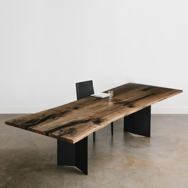 10 foot extra large live edge wood dining room table