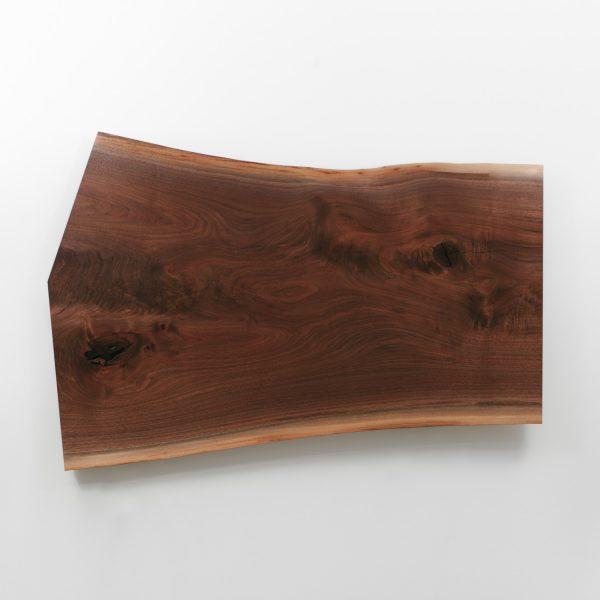Live edge walnut coffee table single slab