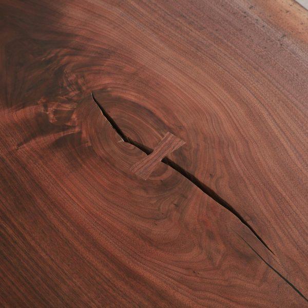 Walnut slab hand cut butterfly Elko Hardwoods