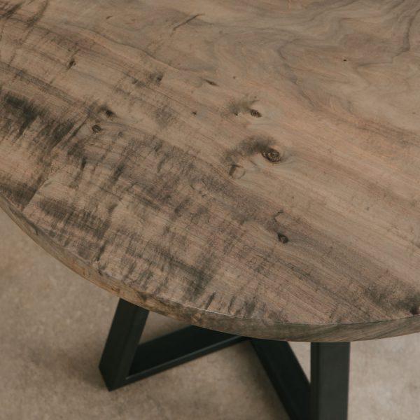 Ebonized maple wood grain