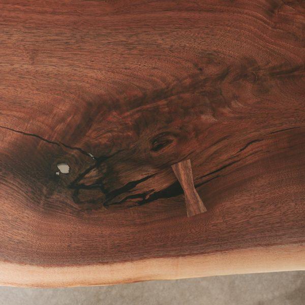 Walnut slab handmade dovetail Elko Hardwoods