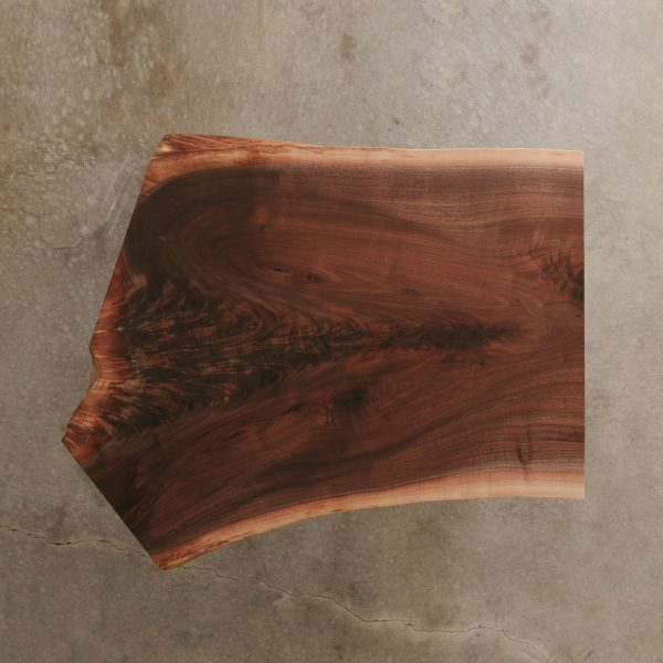 Live edge walnut crotch slab Elko Hardwoods