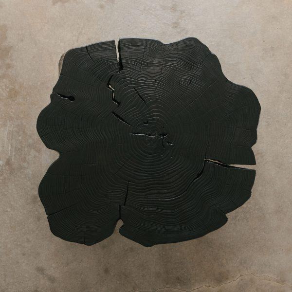 Shou shi ban live edge with natural tree rings
