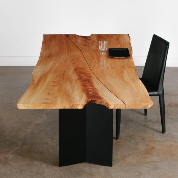 Custom live edge dining room table