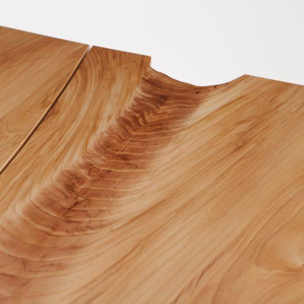 Live edge elm wood grain Elko Hardwoods