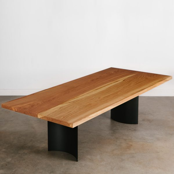 Modern wood conference table for commercial office